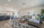 Warm and inviting space of the living room at 1225 E Butler Drive Phoenix, AZ 85020