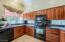 Glass blocks under cabinets