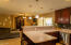 Kitchen over looking Family room
