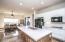 White cabinets and quartz counters