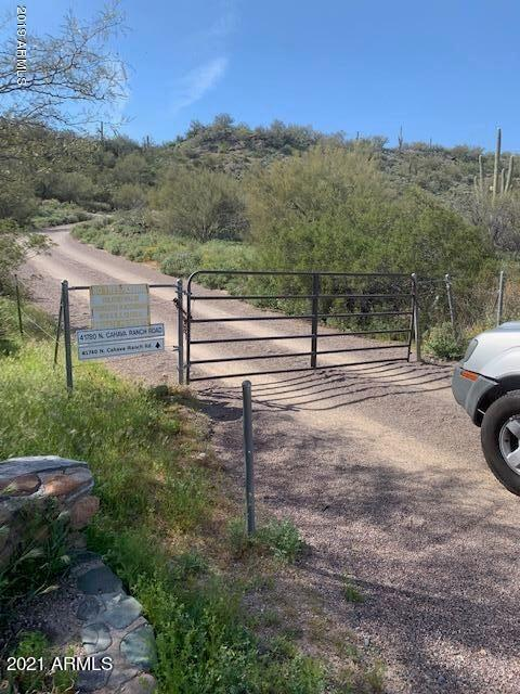 Gate at base of Mountain going to land