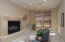 Enjoyed from kitchen and family room.