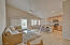 Large kitchen island & plenty of counter space overlooking your great room and dining area.
