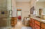 MASTER BATH SUITE WITH JACUZZI TUB AND SPACIOUS SHOWER