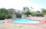 Newly refinished pool