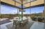 Retractable glass doors