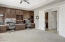 with Custom Built-ins with two desk areas. Granite tops.