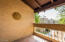 Saltillo flooring & generous sized Storage Room on the main patio