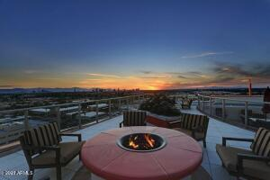Roof Top Fireplace