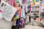 Spacious Walk-In Closet w/Built In Shelving