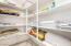 Upstairs Walk-In Linen & Storage Closet