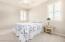 Guest Bedroom with Ceiling Fan/Light, Plantation Shutters, Walk-In Closet