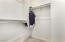 Guest Bedroom Walk-In Closet