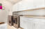 Laundry Room with matching Washer & Dryer & TONS of Cabinet Space!!!