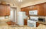 Gorgeous cabinets and granite counters here.