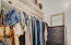 Plenty of space in the Primary Owner's closet!