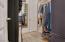 Primary Owner's closet