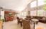Open Floor Plan Family Room, Kitchen and Breakfast Nook