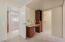 Owner's suite vanity built in