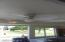 Light and ceiling fan installed!