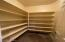 Abundant food storage.