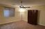 Spacious 12x13 bedroom. Lower level.