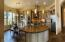 Plethora of custom cabinetry thought this stunning luxury home.