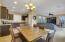 dining in kitchen/family room
