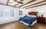Master bedroom on 1st floor