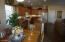Large dining area just off kitchen.