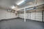 Commercial carpeted garage