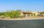 3 car extended length garage with overhead storage, and a beautiful RV gate.