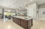 The kitchen flows perfectly into the great room & outdoor area!