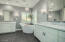 Must see ensuite! Marble countertops, marble shower, & soaking tub.