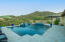 Relax in the temperature controlled pool or spa while enjoying the beautiful views of East Wing Mountain.