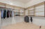 TWO walk-in closets create ample and separate storage--no fighting over closet space!