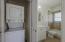 hallway - stackable washer/dryer