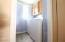 Laundry Room inside. Conveniently accessible from the hallway.