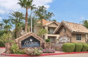 GREAT LOCATION, BEST PRICE IN NORTH SCOTTSDALE FOR ONE BEDROOM CONDO. NEAR THE LOOP 101 AND TONS OF SHOPPING & RESTAURANTS. FEATURES KITCHEN & BATH W/ CHERRY WOOD CABINETRY AND GRANITE COUNTERTOPS/ UPGRADED FAUCETS, FIXTURES & STAINLESS KITCHEN APPLIANCES/ INCLUDES WASHER, DRYER & FRIG/ GROUND FLOOR CONDO W/ PATIO NEAR THE POOL & HOT TUB/ A SUPER PLACE TO CALL HOME! CONDO WAS A VACATION HOME/RENTAL - ALL FURNISHING AND HOUSEHOLD ITEMS ARE AVAILABLE FOR PURCHASE.