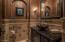 Kings and Queens Powder Room just steps from the Home Entry and across the hall from Executive office!