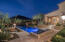 Travertine decking through all exterior patios and hardscape!