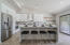 Open & Bright w/Quartz Counters, Stainless appliances and Shaker Cabinets