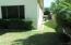 Right grassed sideyard