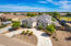 Another ariel view of this beautiful custom home that is practically brand new.