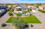 Perfection in this space and backyard! Low maintenance, turf, pool, watering system, RV pad, dog run, travertine and spacious covered patio, lots of trees and gravel also. RV gates on both sides.