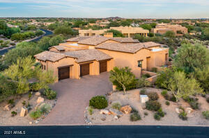 Home sits on 1.05 Acres & total privacy