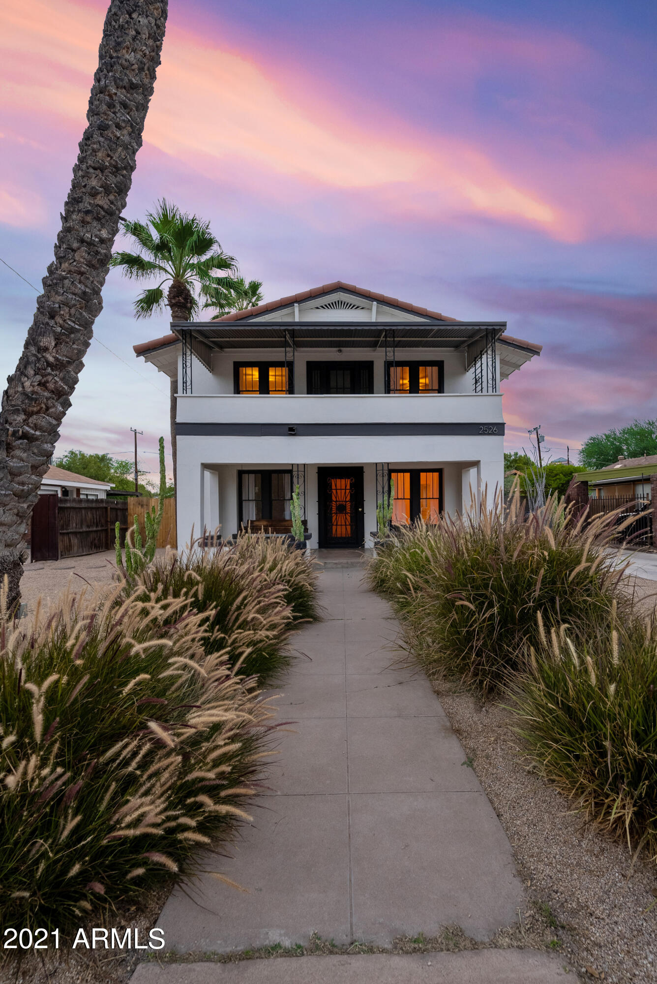 Welcome home to this stunning historic home in the heart of the coolest neighborhood in all of Phoenix, the Coronado District! It's impossible to find an original two story bursting with charm like this one! This meticulously maintained home boasts loads of natural sun light, a great layout, and all kinds of unique features. In the kitchen you'll find a perfectly kept ''Vent-A-Hood'' hood, along with a retro range. Design forward light fixtures round out the kitchen and living space, giving the lower level a swanky vibe. Upstairs you'll find three bedrooms, perfectly appointed, and flanked by balconies. Having said all that, the backyard is truly the crown jewel of this home. Tons of cacti, trees, and landscape surround the gorgeous pool. Hurry and see this one today, it won't last!