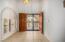 Foyer double door entrance
