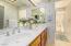 double vanities in Master Bath Room