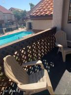 Balcony over pool